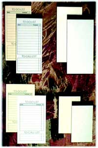 memo pads, custom memo pads, note pads, custom notepads